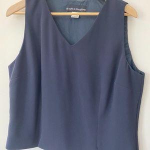 Nygard Navy Dress Shell, Sz14 Bin 12 02 BAT
